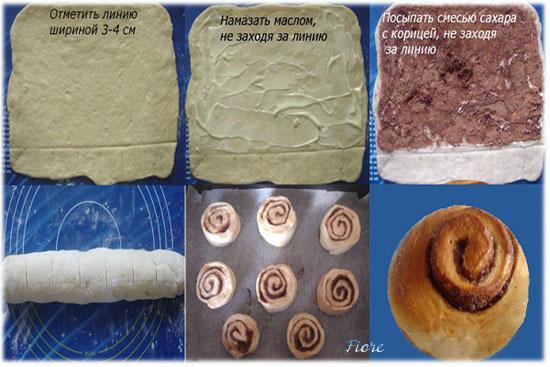 Рецепт булочки синабон в домашних условиях рецепт с фото